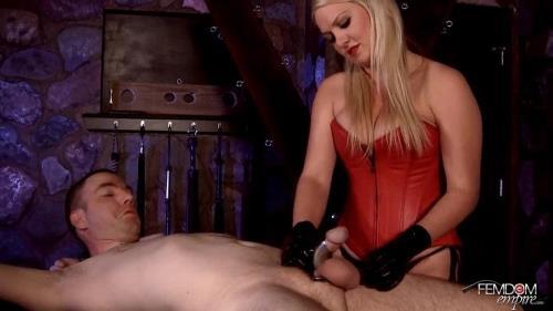 Lexi Sindel - Steel Chastity Milking [HD, 720p] [FemdomEmpire.com]