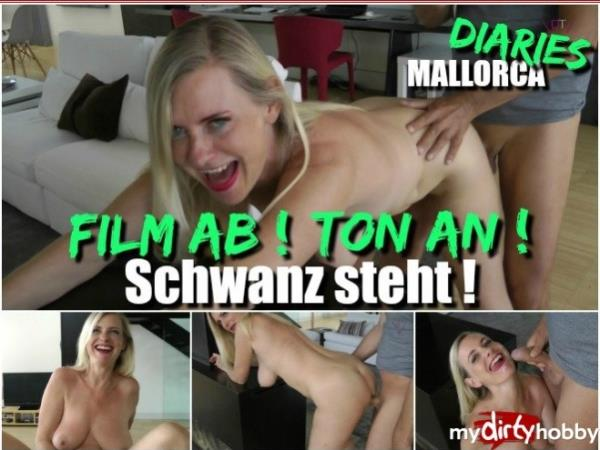 Dirty-Tina - Film ab  Ton an  Schwanz steht  Movie off! Sound on! Tail is standing! (MyDirtyHobby/MDH)  [FullHD 1080p]