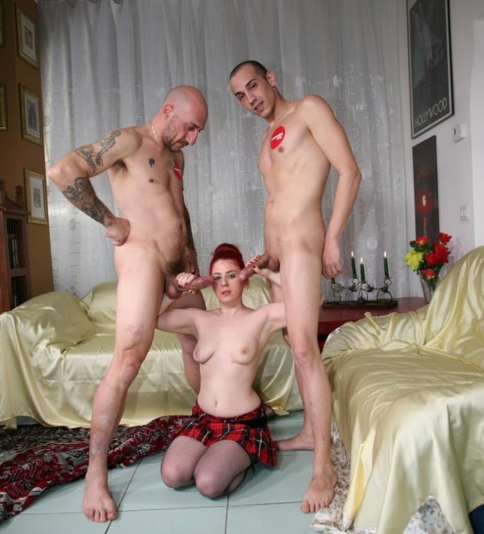 CastingAllaItaliana/PornDoePremium: Valentina Palermo - Italian newbie Valentina Palermo gets DP in wild hard MMF threesome  [HD 720p] (632.73 Mb)