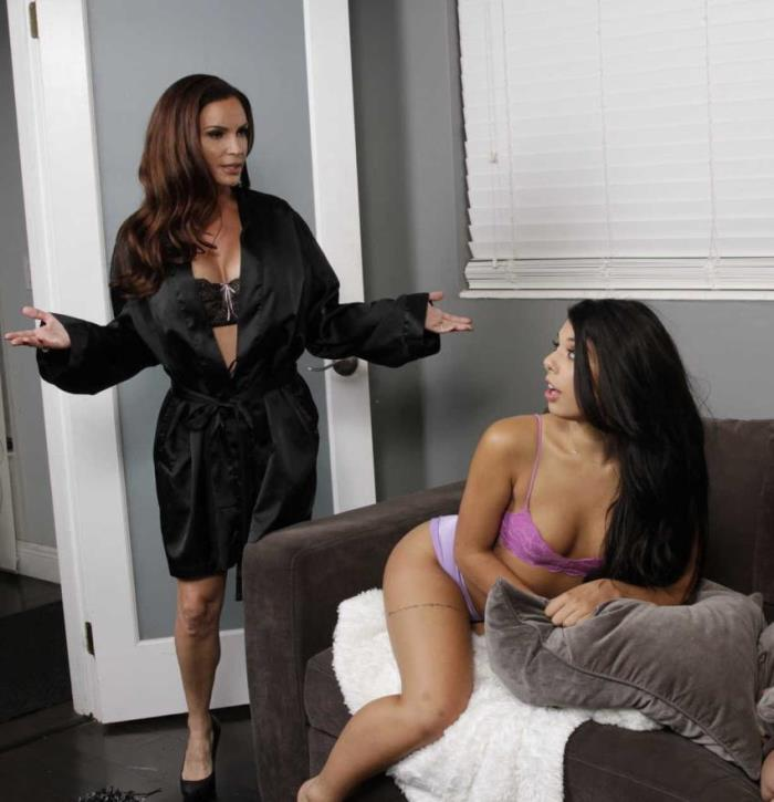 Diamond Foxx, Gina Valentina- Bad Influence  [HD 720p] MomsLickTeens/RealityKings