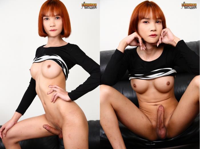 Mikky / Sexy Slim Redhead Miki! (LadyBoy) HD 720p