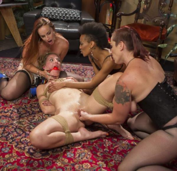 Mona Wales, Bella Rossi, Nikki Darling, Mistress Kara - Dyke Bar Underground: Mona Wales Submits! (Kink/WhippedAss)  [HD 720p]