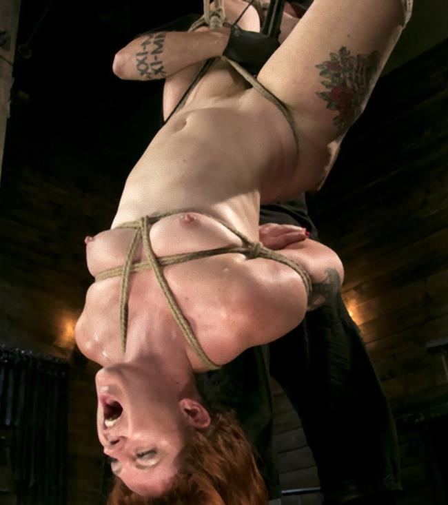Kink/HogTied - Barbary Rose - Pain Slut in Extreme Bondage Suffers from Brutal Torment [HD 720p]
