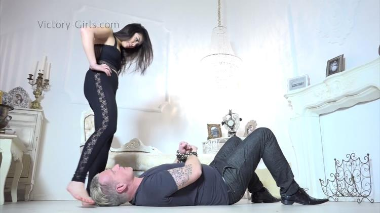 Kim - Foot domination [victory-girls / FullHD]