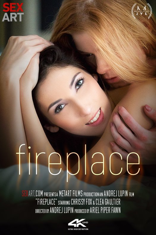 SexArt / MetArt: Chrissy Fox  Clea Gaultier - Fire Place  [SD 360p] (215.12 Mb)