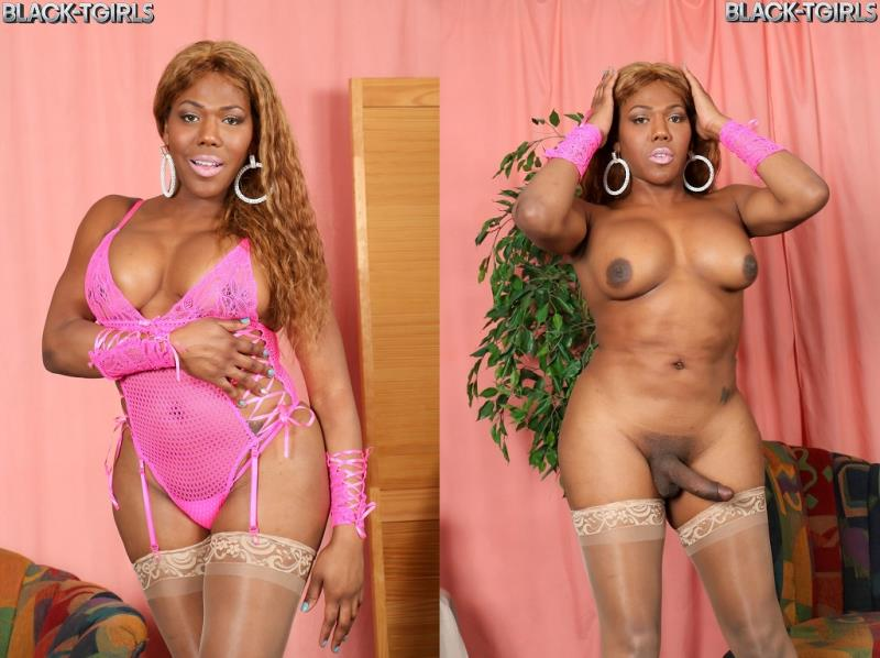Black-TGirls.com: Kristal\'s Sticky Cumshot! [HD] (645 MB)