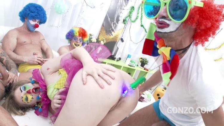 Ella Nova 10on1 Clown GangBang!?!? SZ1620 / 24.09.2017 [LegalPorno / SD]