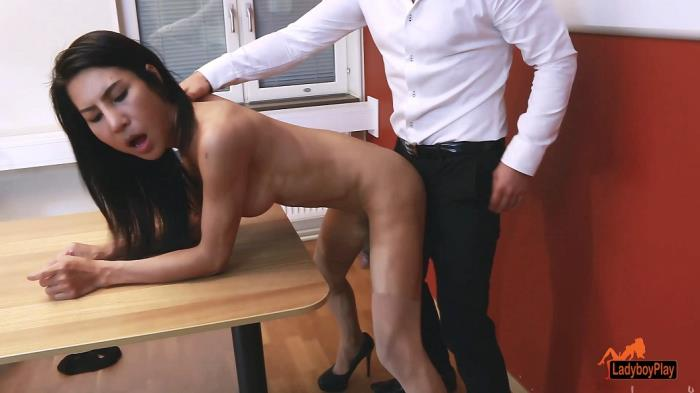 Thippy69 / Office Facial Cum (LadyBoyPlay) FullHD 1080p