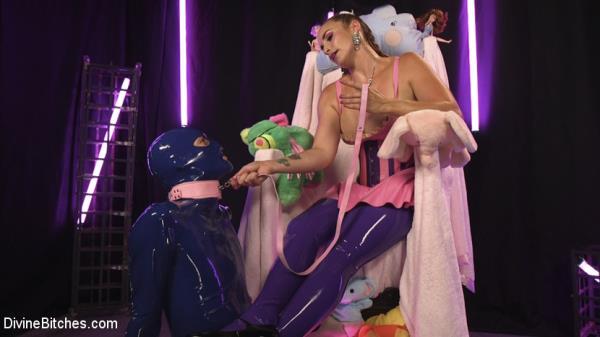 Bella Rossi, Tony Orlando - Sweet Sadism: Plastic Princess Torments Her Toy (DivineBitches/Kink)  [HD 720p]