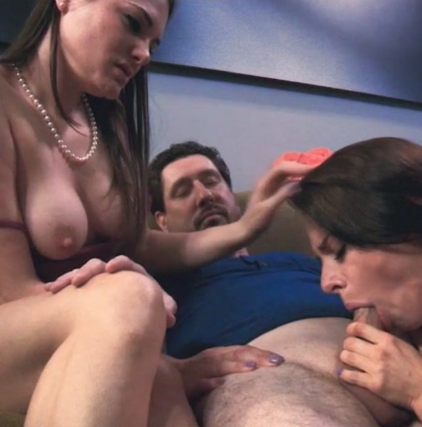 Clips4Sale.com - Anya Olsen, Madeline Blue [A Daughters Family Initiation] (HD 720p)