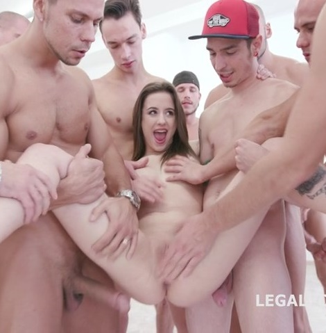 LegalPorno: Gabriella - 15on1 TP GangBang with Gabriella Balls Deep Anal DAP TP Gapes Final DP 17 Cumshots with Facial and Swallow GIO455  (SD/480p/1.03 Gb)