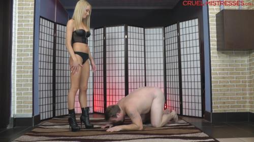 Mistress Ariel - Echoing Slaps [FullHD, 1080p] [CruelAmazons.com / Cruel-Mistresses.com]