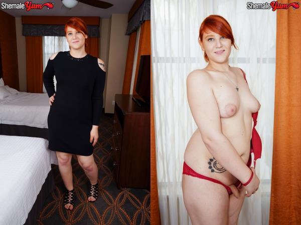 SheMaleYum - Ashlee Nova / Redhead Beauty Ashlee Alespia! [HD, 720p]