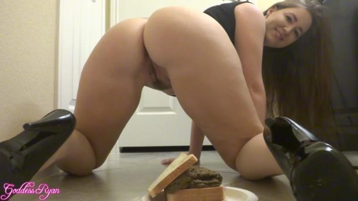 Black Dress Scat Sandwich (Scat Porn) FullHD 1080p