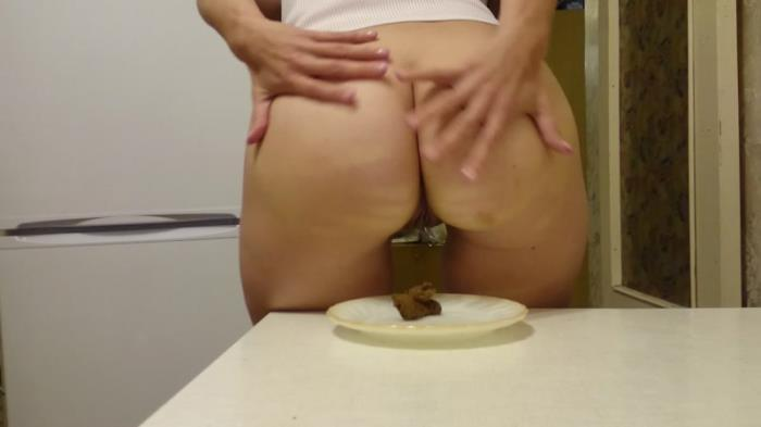 I eat shit with bread (Scat Porn) FullHD 1080p