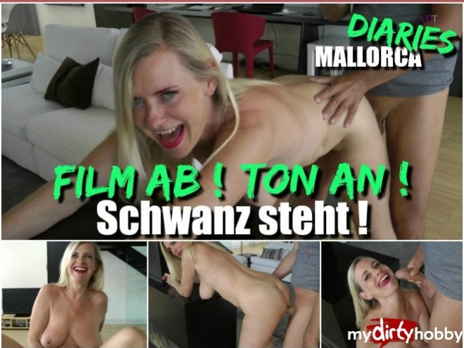 MyDirtyHobby/MDH - Dirty-Tina - Film ab  Ton an  Schwanz steht  Movie off! Sound on! Tail is standing!  [FullHD  1080p]