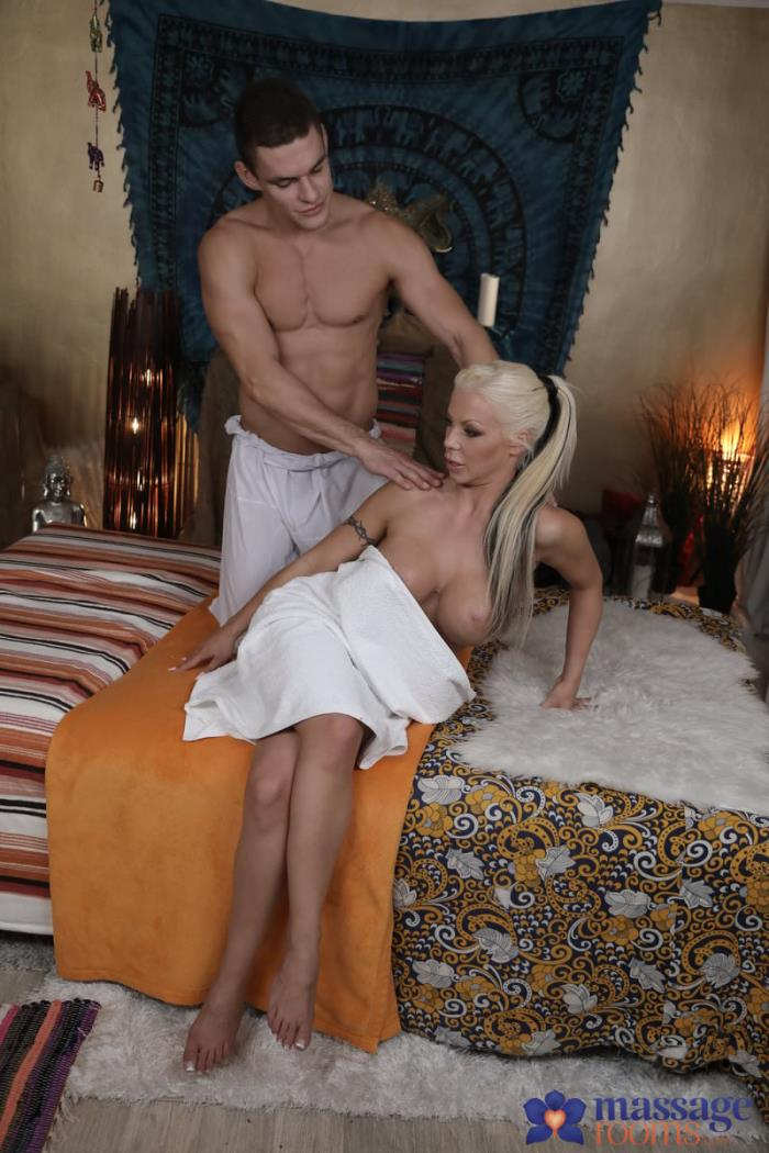 MassageRooms.com / SexyHub.com - Barbie Sins - Big boobs blonde sucks and fucks [SD, 480p]