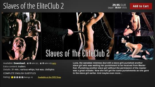 ElitePain: Slaves of the EliteClub 2 (HD/720p/927 MB) 06.09.2017