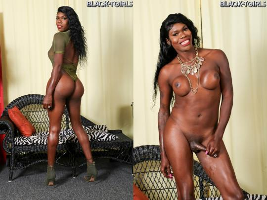 Black-TGirls: Sexy Gezelle Returns! (HD/720p/548 MB) 09.09.2017