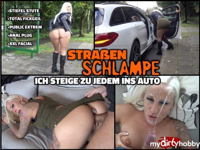 Lara-CumKitten - (MyDirtyHobby/MDH) Der Public Strasen Schlampen Trick  Ich steige zu jedem ins Auto  The public street sluts trick I get into the car [FullHD 1080p] - German