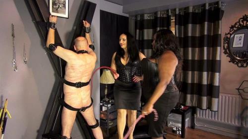 Mistress Caramel and mistress Ezada spanking [FullHD, 1080p] [Clips4sale.com]
