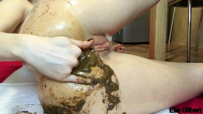 Close up poopoo hole fisting (Scat Porn) FullHD 1080p