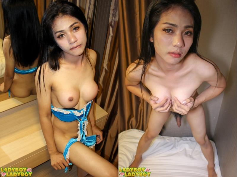 (Shemale / MP4) Alice / Cute And Fuckable Alice Plays! LadyBoy-LadyBoy.com - HD 720p