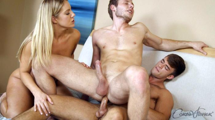Beau's Threeway Tease (with Kenny & Tiffany) (CorbinFisher) HD 720p