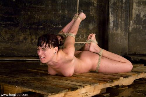 Dana DeArmond, is still one of toughest bondage models of our lifetimes [HD, 720p] [Hogtied.com / Kink.com]