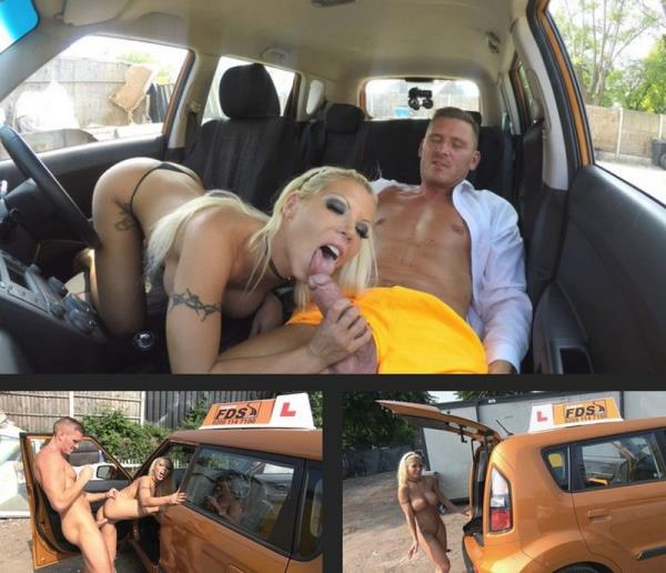 FakeDrivingSchool - Barbie Sins & Marc Rose - Barbie earns her pass with a facial [SD, 400p]