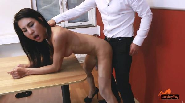 LadyBoyPlay - Thippy69 / Office Facial Cum [FullHD, 1080p]