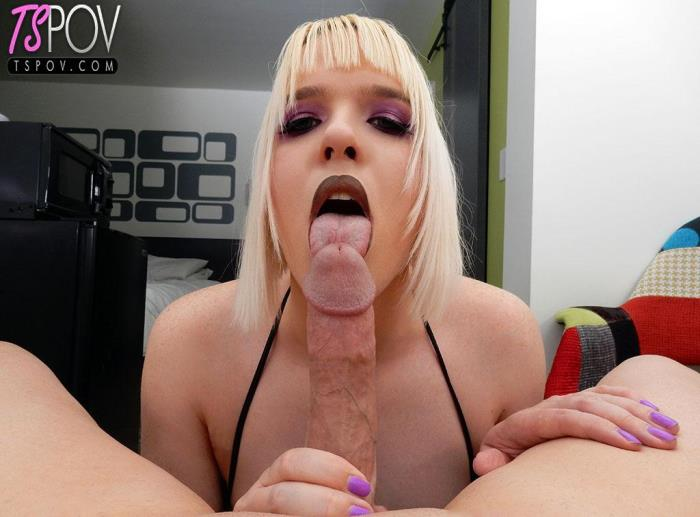 Stacy Sadistic - dominant Stacy Sadistic owns your cock (TsPov) FullHD 1080p