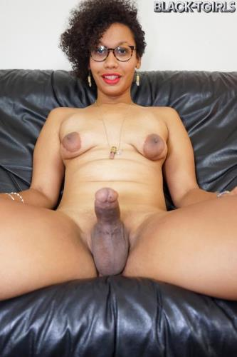 Koko - Koko Has Fun With Her Toy! [FullHD, 1080p] [Black-TGirls.com]
