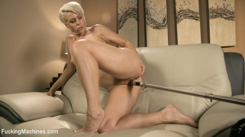 Helena Locke - Sexy Blonde Cougar Takes Our Machines for a Spin [SD, 540p] [FuckingMachines.com / Kink.com]