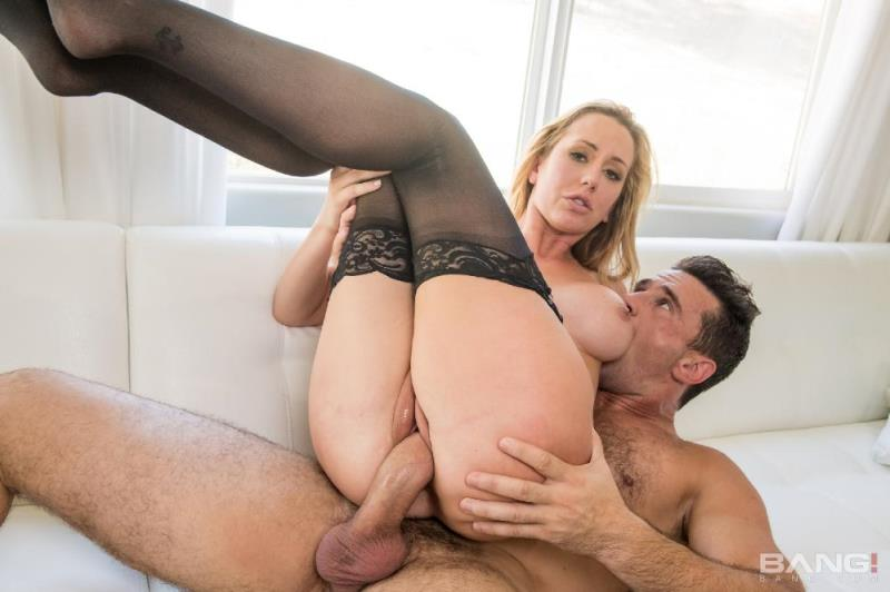 Bang! Gonzo / Bang.com: Brett Rossi - Mature Blonde Brett Rossi Takes Monstrous Man-Meat And Thick Facial [SD] (131 MB)