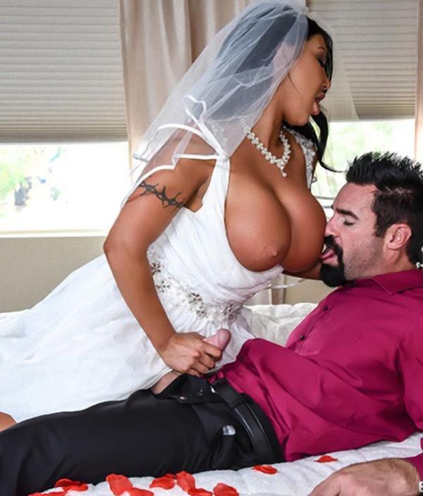 August Taylor - Catch The Garter Belt, Fuck The Bride  [HD 720p]