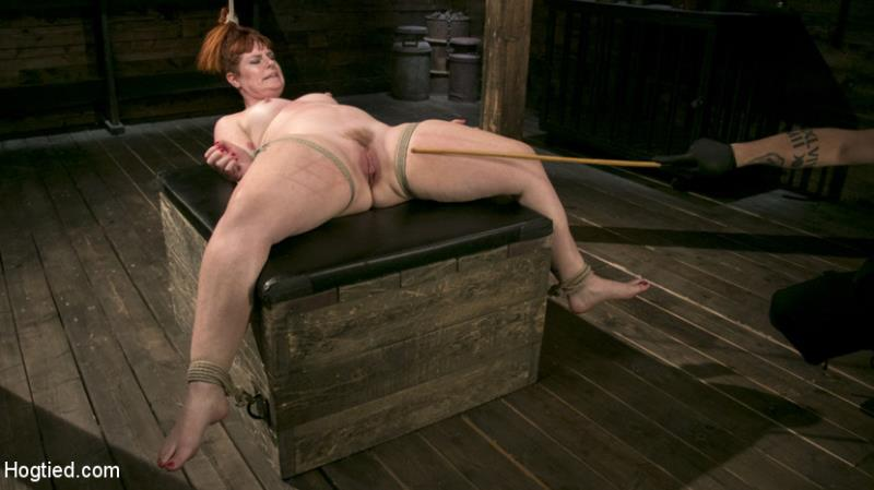 HogTied.com / Kink.com: Barbary Rose - Pain Slut in Extreme Bondage Suffers from Brutal Torment [FullHD] (1.63 GB)