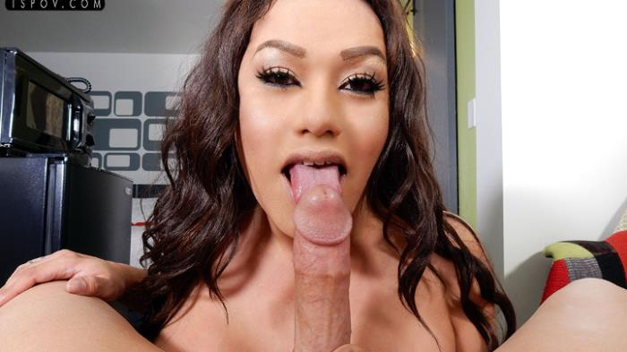 Lola Knight - Lola ass fucks him while jerking him off (TsPov) FullHD 1080p