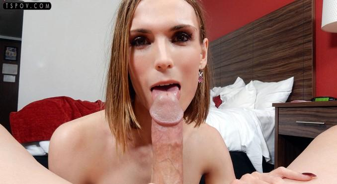 Autumn Fallen - amateur starlet Autumn gets freaky on a big dick (TsPov) FullHD 1080p