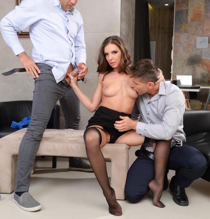 DPFanatics/21Sextury - Henessy - Threesome At The Office (Group)  [HD / 720p / 651.39 Mb]
