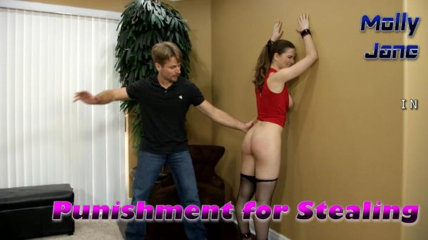 Molly Jane - Molly Jane in Punishment for Stealing (2014/HD)