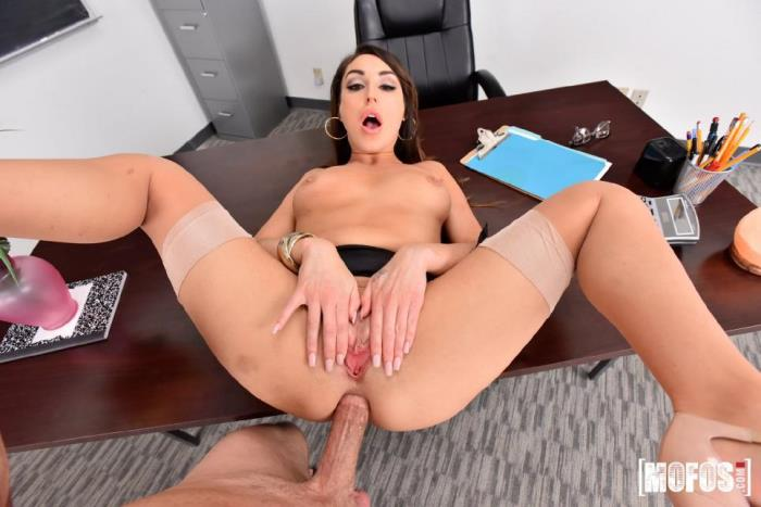MofosBSides.com / Mofos.com - Christiana Cinn - Anal Lesson From Tutor in Stockings [SD, 272p]