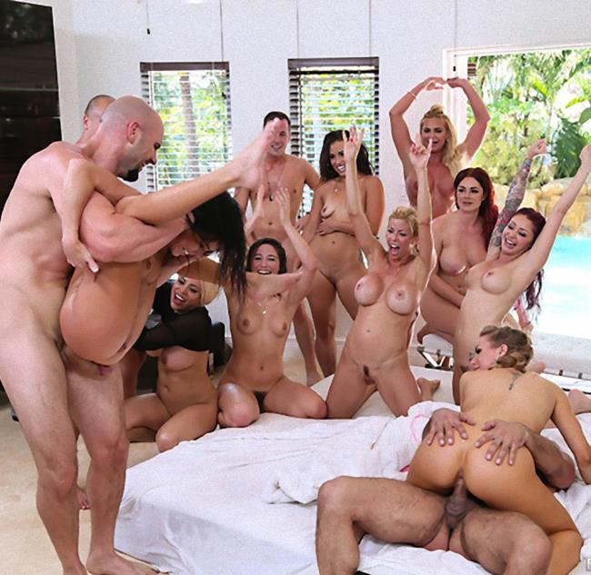 Brazzers/ZZSeries: Abella Danger, Alexis Fawx, Keisha Grey, Kelsi Monroe, Luna Star - Brazzers House 2: Day 3  [HD 720p]  (Group)
