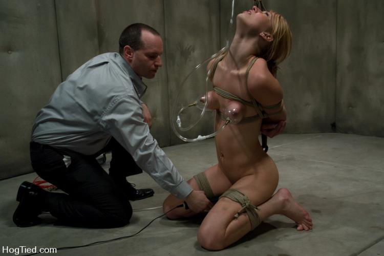 Calico Lane - CLASSIC SHOOT! Calico: Sex Addict! Can she be cured? Why would we want that? [Kink, Hogtied / HD]
