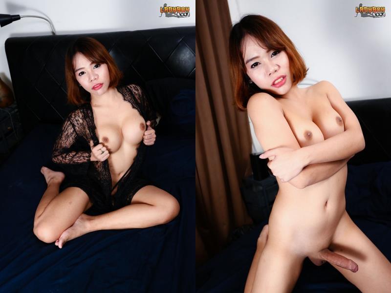 LadyBoy.xxx: Nam / Hot Nam Splooging Cum! [HD] (599 MB)