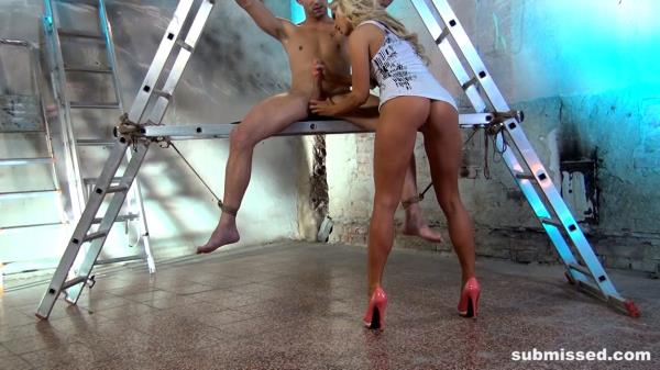 Carla Cox - Blonde Babe Loves Control - BoundMenWanked.com / Submissed.com (FullHD, 1080p)