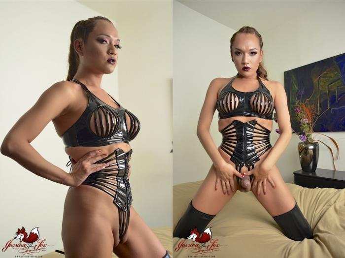 Jessica Fox / Sexy Black Latex (JessicaTheFox) FullHD 1080p