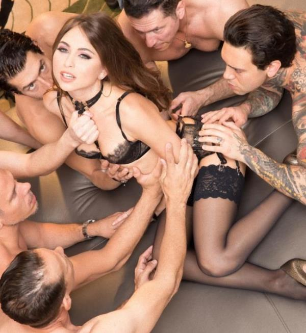 Riley Reid, Mick Blue, Riley Reid, Xander Corvus - Riley Reid Gangbang Part 1, Double Penetration, Double Anal! (JulesJordan)  [HD 720p]