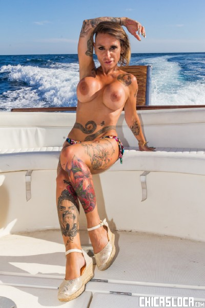 ChicasLoca/PornDoePremium: Gina Snake - Busty Spanish MILF Gina Snake gets fucked on a boat by Max Cortes  [SD 480p] (427.31 Mb)