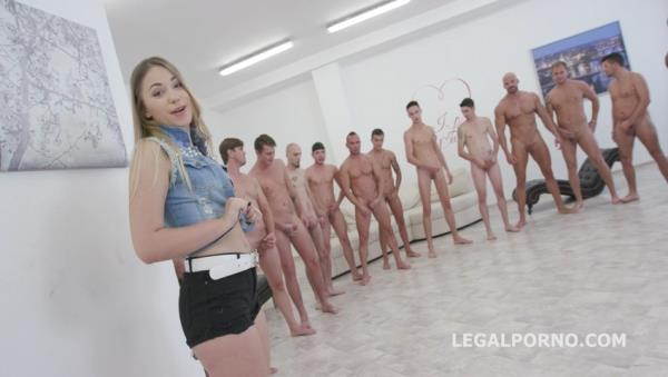 LegalPorno - 15on1 GangBang with Selvaggia Balls Deep Anal DAP TP Gapes Final DP 17 Cumshots with messy Facial and Swallow GIO453 [SD, 480p]